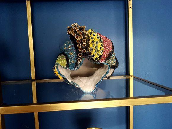 Vase handgefertigt aus Ton - by Ferdinand Interior