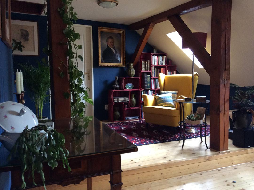 dachgeschoss wohnung italien style by ferdinand interior wien