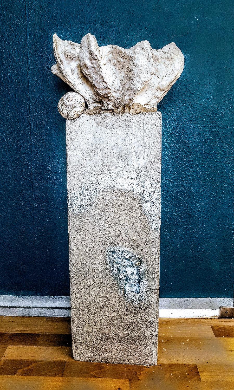 Sockel & Säule aus Beton für Gallerien und Museen: 1