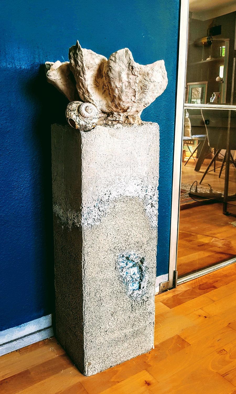 Sockel & Säule aus Beton für Gallerien und Museen: 2