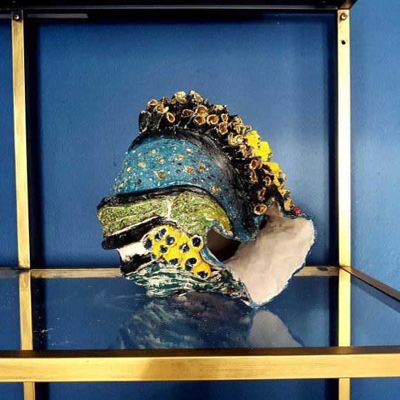 Vase aus Ton handgerfertigt Muschel7 by Ferdinand Interior Wien1080x1080