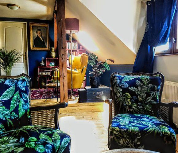 Wohnidee Sitzecke mit Sessel
