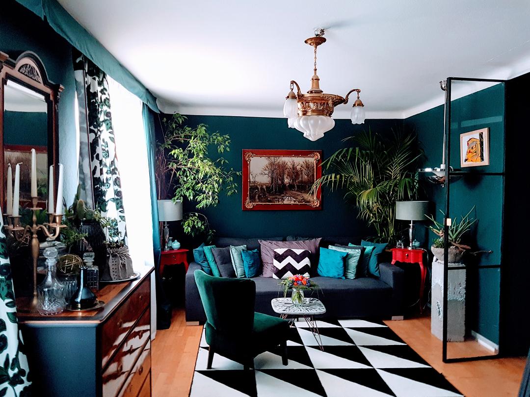 Wohnzimmer: Eklektischer Einrichtungsstil